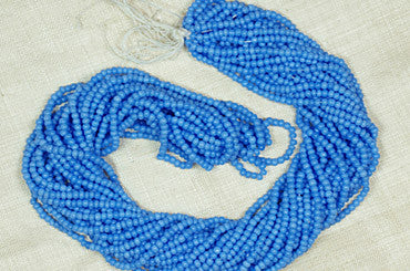 Vintage Baby Blue Seed Beads