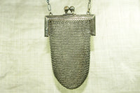 Antique Silver Mesh Purse from Germany