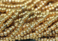 Hank of Brassy 13º Seed beads