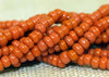 Mini Hank of 16º Dark Orange Czech Seed Beads