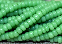 Small Hank of 14º Mint Green Seed Beads