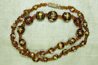 Amber Color Wedding Cake Beads