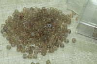 10° Vintage Venetian Transparent Taupe Seed Beads