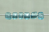 11° Vintage Venetian Light Aqua Transparent Seed Beads