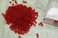 11° Vintage Cherry Seed Beads from France
