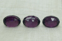 Vintage Cab: Domed, Faceted Amethyst