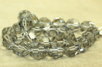 Vintage Swarovski Black Diamond Beads