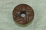 Wooden Tuareg Spindle Whorl, C