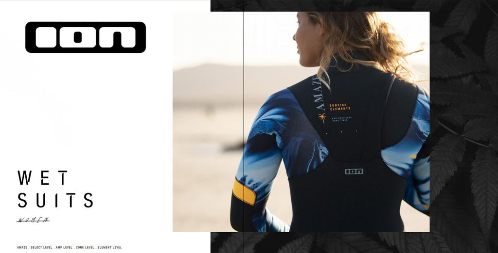 ION wetsuits Amaze Amp women range for 2021