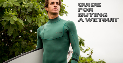 Step by step guide for buying a wetsuit