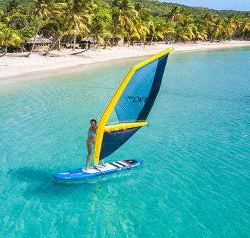 Irig inflatable sail for kids