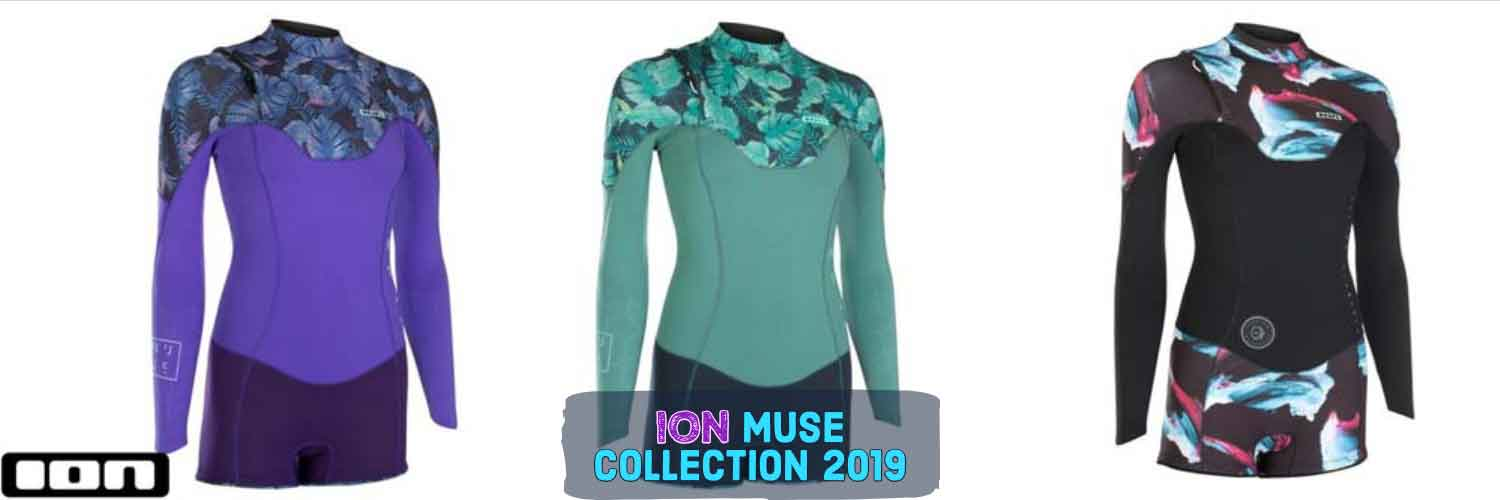 ION Muse collection wetsuits 2019