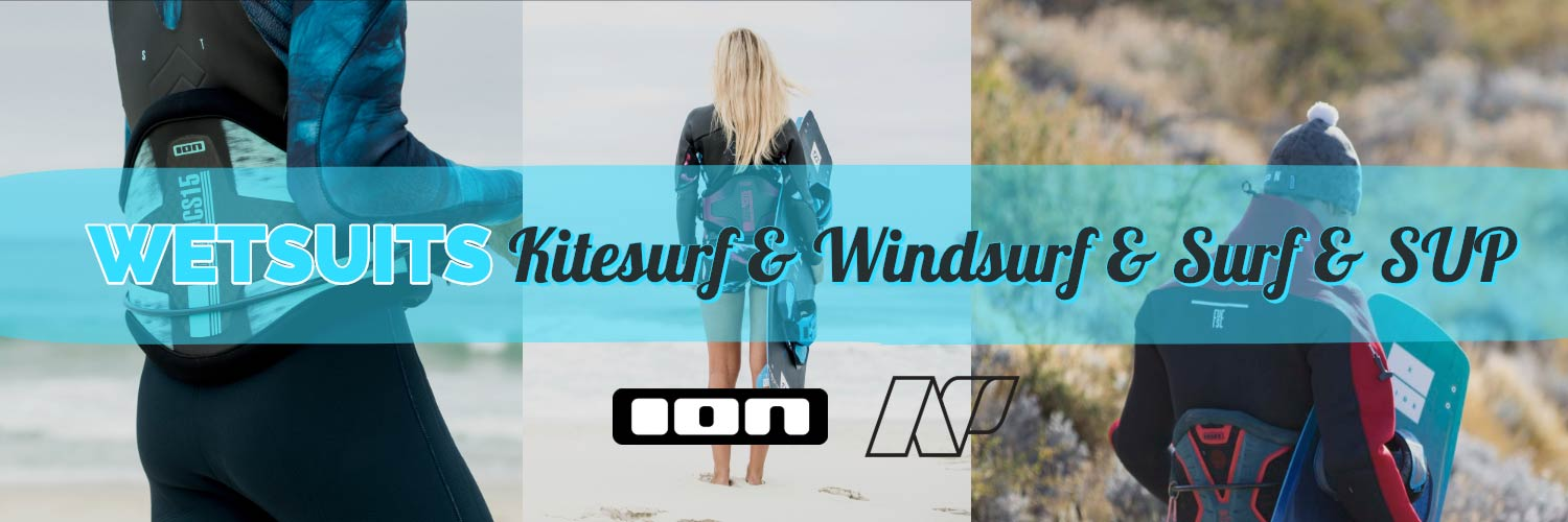 ION & Neil Pryde Winter Summer wetsuits
