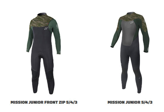 NP Mission kids wetsuits 2018