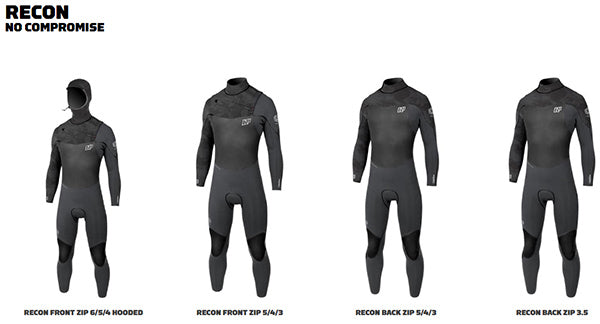 NP Recon wetsuits 2018