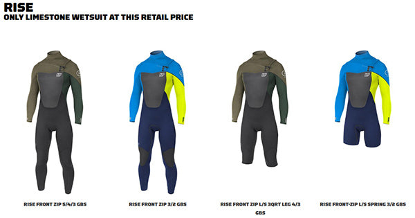 NP rise Wetsuits men women kids wetsuits