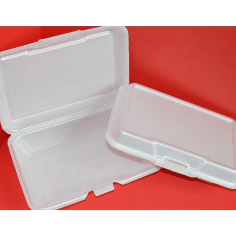 #207 1-Compartment Foam Hinged Containers