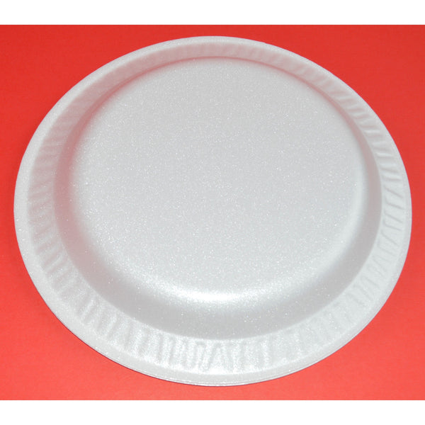 White Foam Plate - 500 Pieces