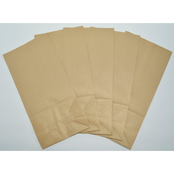 #3 Paper Lunch Bags - Brown