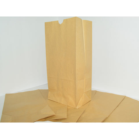 #4 Paper Lunch Bags - Brown