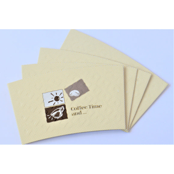 Coffee Cup Sleeves - 1000 Pieces