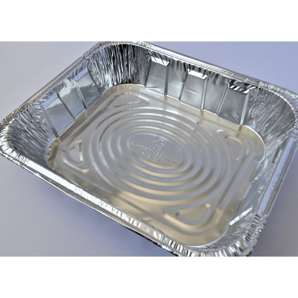 1/2 Size - Shallow - Aluminum Steam Pan