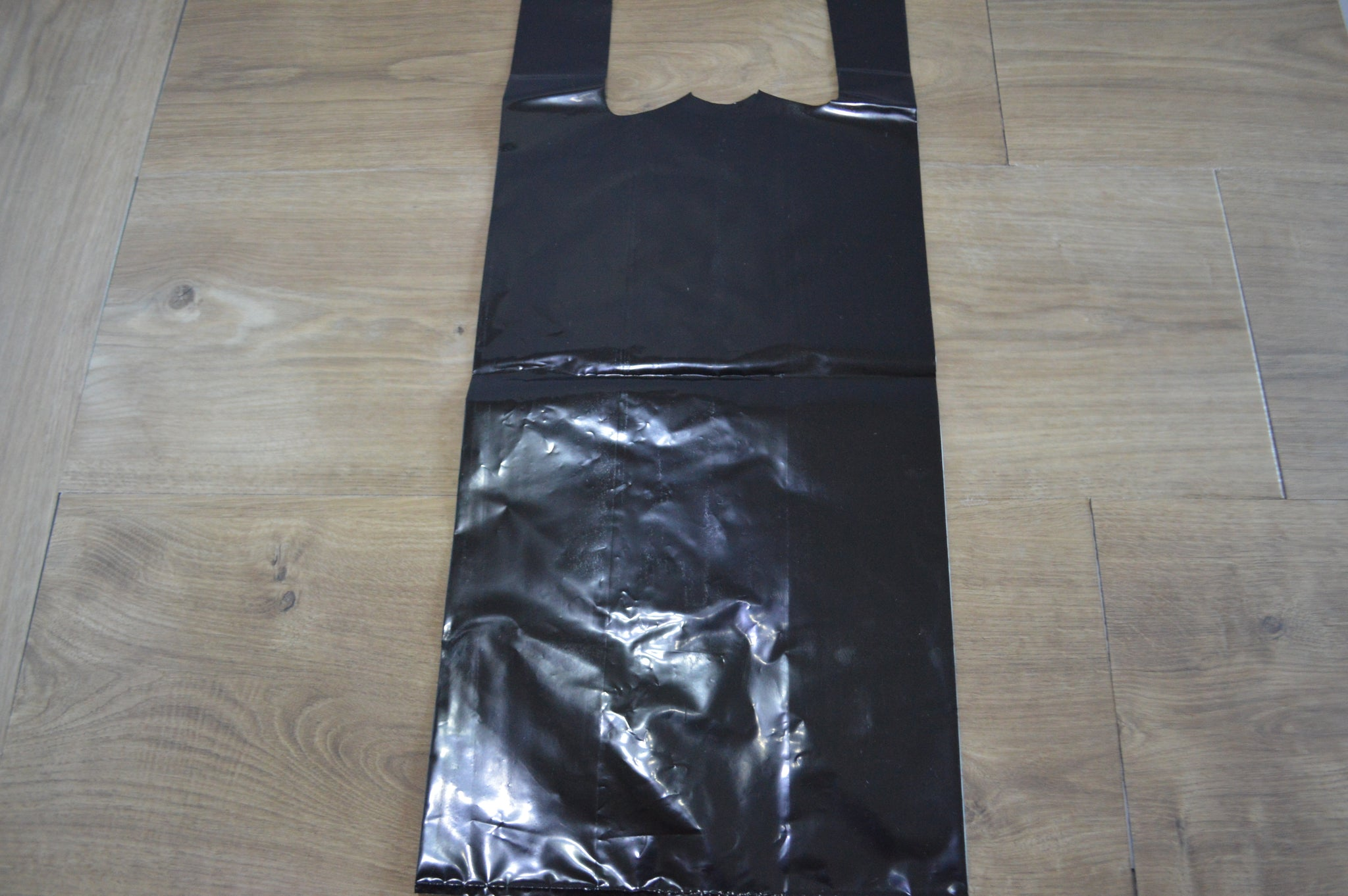 Heavy-Duty 2-Bottle Black Liquor Bottle Bags