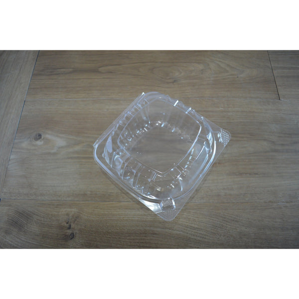 "6"" Clear Hinged Smart-Lock Containers"