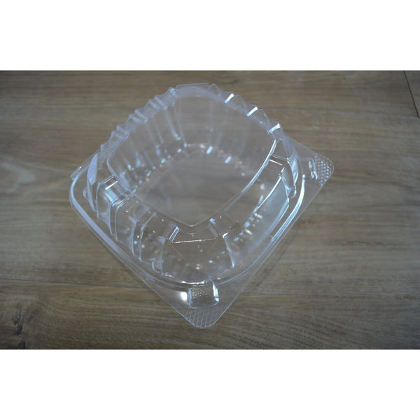"8"" Clear Hinged Smart-Lock Containers"