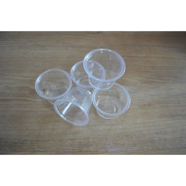 1 OZ Clear Portion Cups - 2500 Pieces