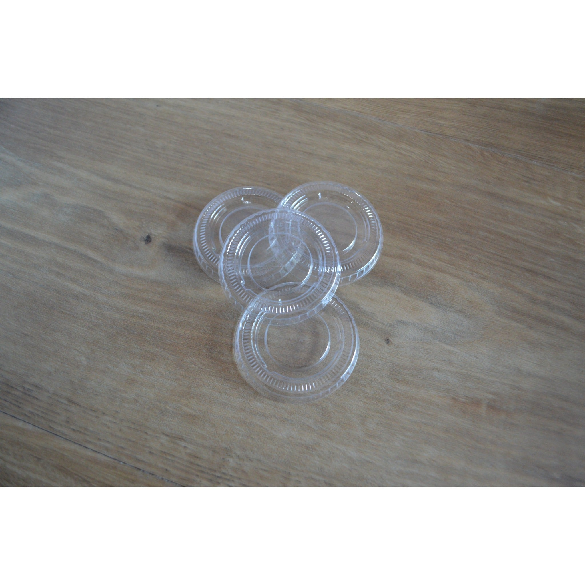 Clear Portion Cup Lids