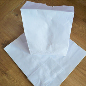Paper Lunch Bags - White