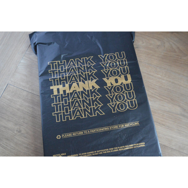 "1/6 - ""Thank You"" Plastic Shopping Bags"