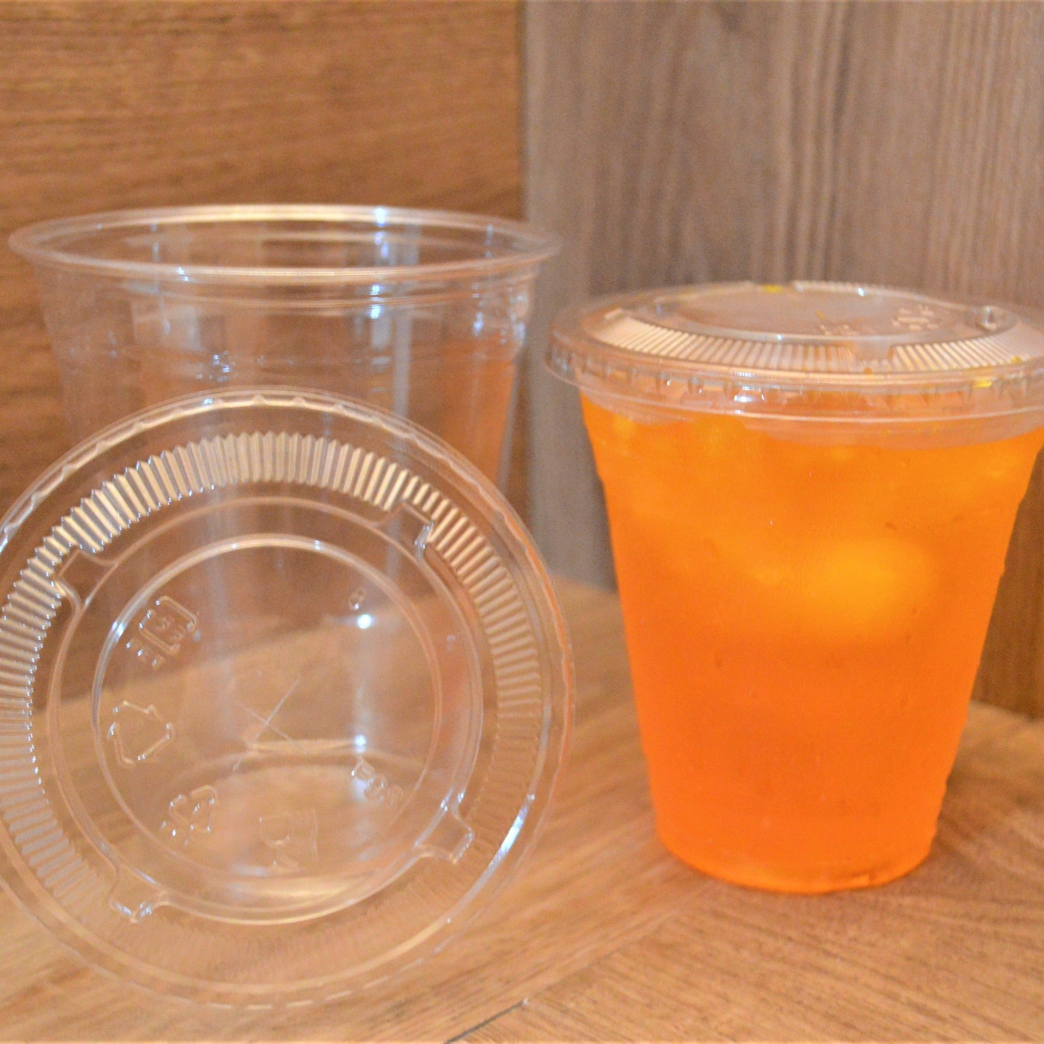 12 OZ Clear Plastic Cups