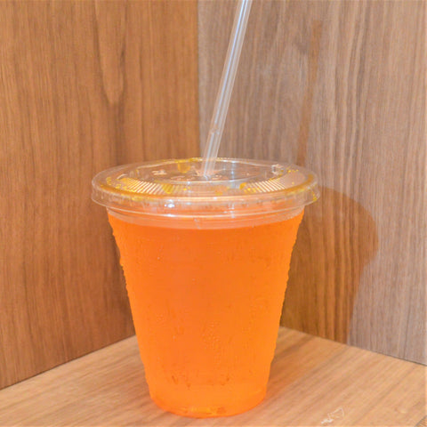 Individually Wrapped Clear Straws - 7 3/4""
