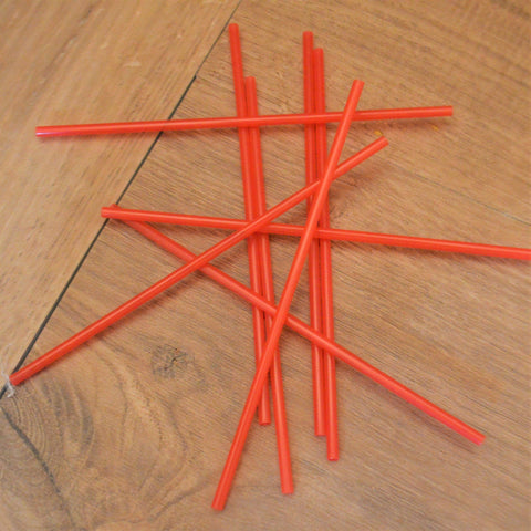 "8"" Plastic Coffee Stirrers - 1000 Pieces"