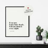 Italy Lovers Quote Printable Art