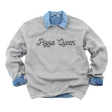 Pizza queen Sweatshirt- by Smitten Italy