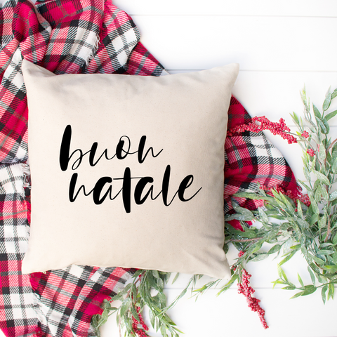 Buon Natale Decorative Pillow