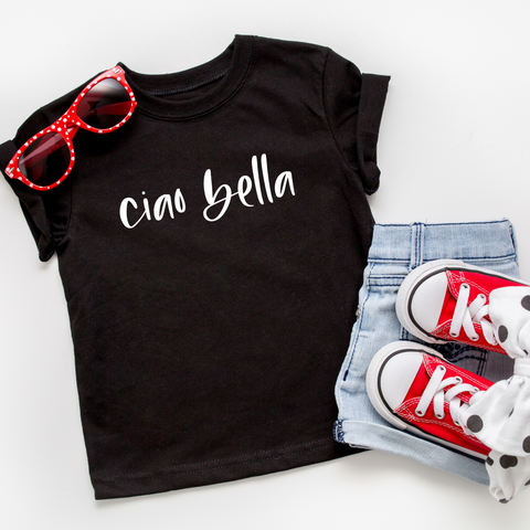 Ciao Bella Toddler T-Shirt (script)