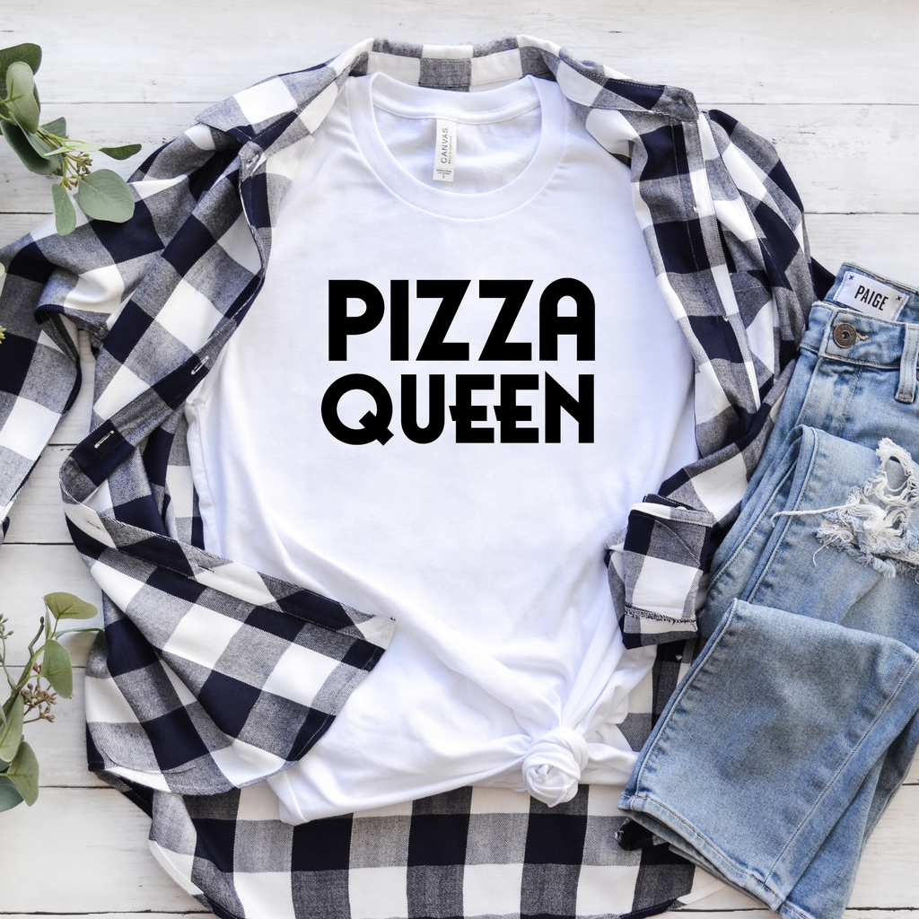 Pizza Queen T-Shirt- Smitten Italy Shop