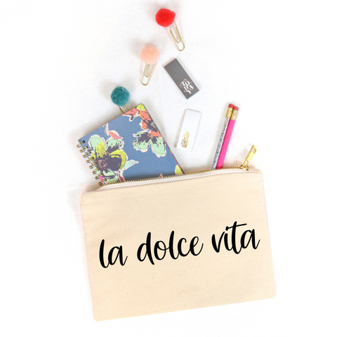 La Dolce Vita Cosmetic Bag