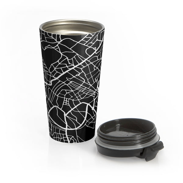 Rome Italy Map Stainless Steel Travel Mug