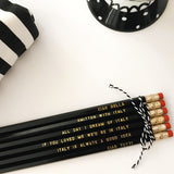 Italy Lovers Pencil Set