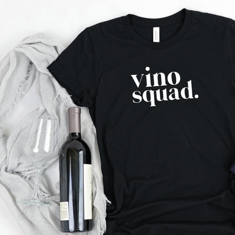 Wine Lovers T-shirt / Vino Squad T-shirt