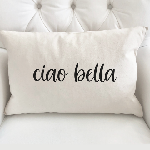The Ciao Bella Mug is a perfect gift for the Italy lovers in your life, or for your own morning brew! Feels great in your hands + the design is printed on both sides.