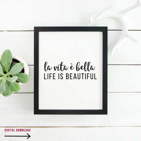 Life Is Beautiful (Digital Download)