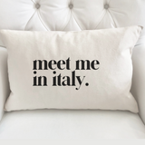 """Meet Me in Italy"" Cotton Tote Bag"
