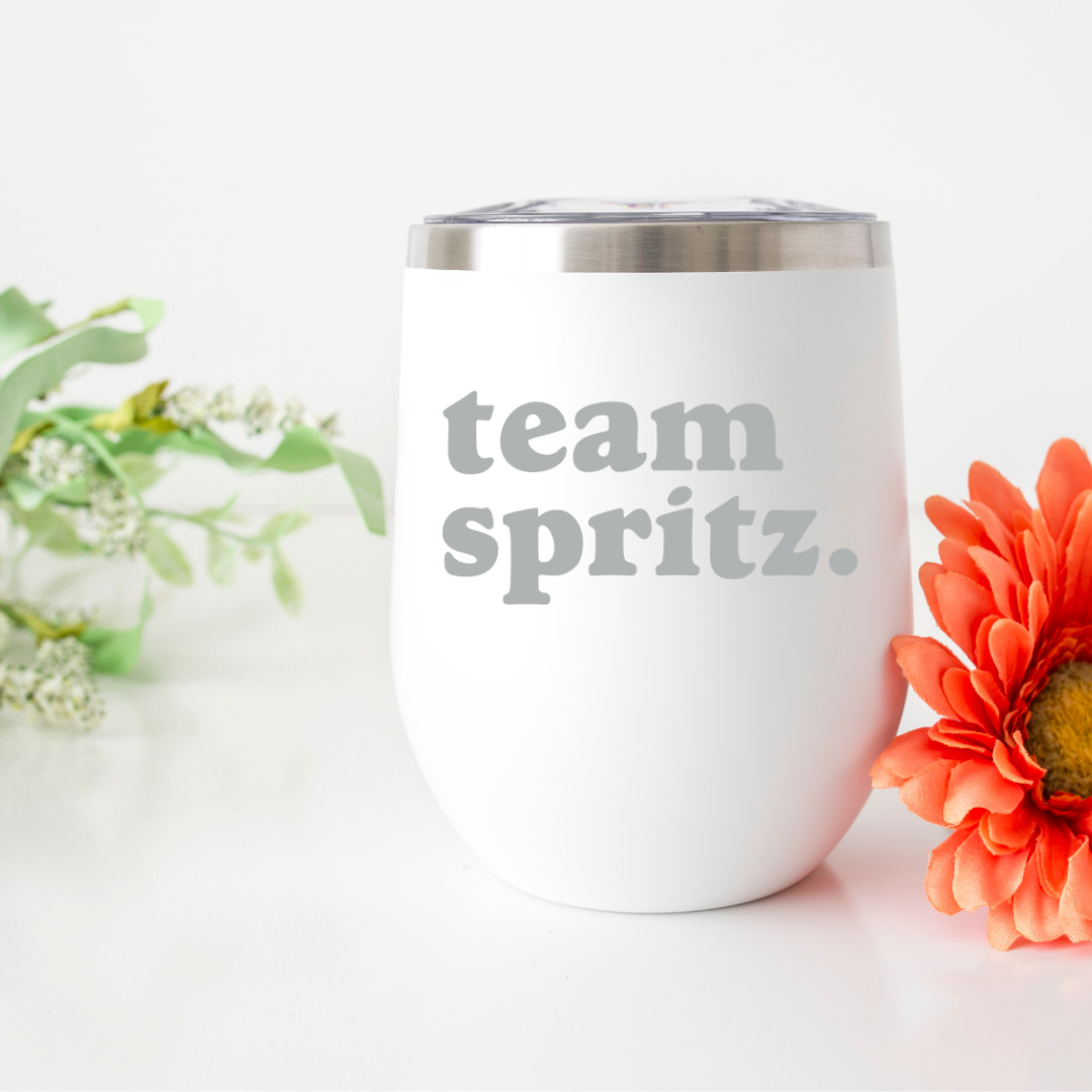 Team Spritz Insulated Wine Tumbler