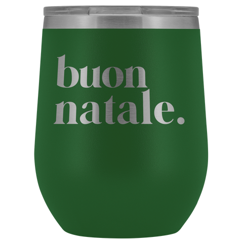 Buon Natale Insulated Drink Tumbler